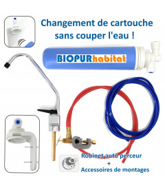 Filter under sink activated carbon
