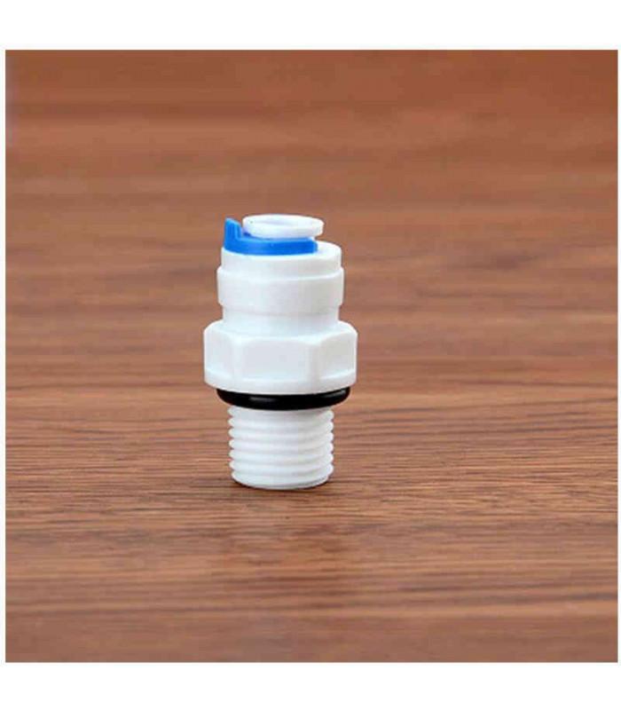 Agua Conector Adaptador Set 3//8/CON 1//4/llave de lat/ón para filtro de agua Sistema /ósmosis inversa Side by side Combi Filtro grifo Conector y /Ósmosis Inversa Conector de manguera