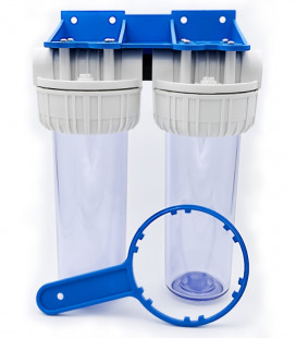 Double water filter