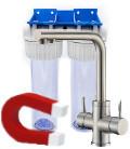 Economic water softener + purifier pack