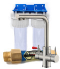 Performance water softener + purifier pack