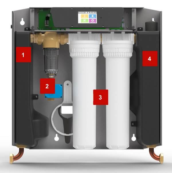 Station de filtration KOMEO