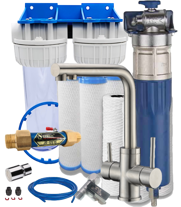 Anti-limescale filter kit