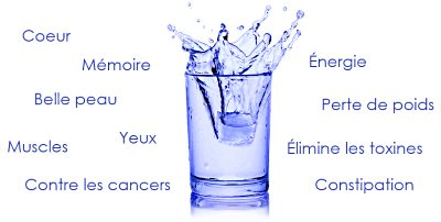 eau purifiée